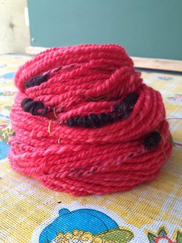 Ladybug yarn. #2.