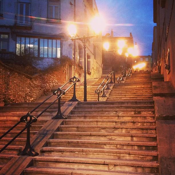 La meilleure escalier à Saint-Étienne.