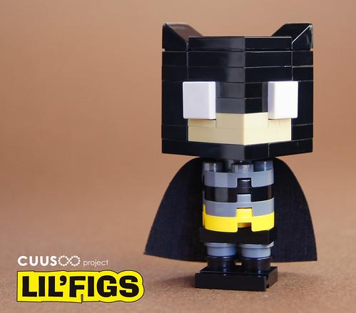 Lego Batman Lil'FIG by customBRICKS