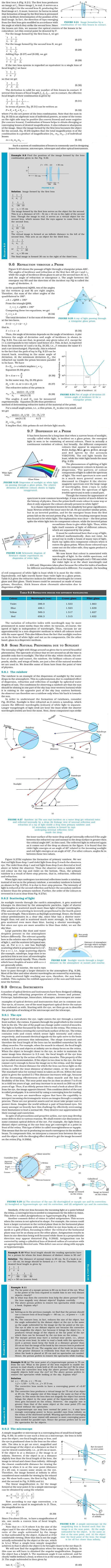 NCERT Class XII Physics Chapter 9 - Ray Optics and Optical Instruments