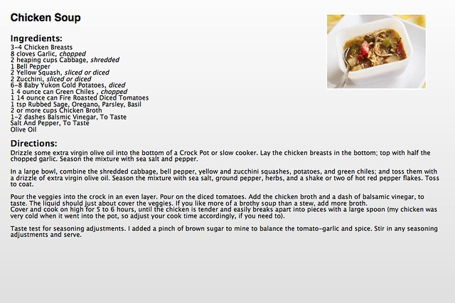 Chicken Soup Recipe copy