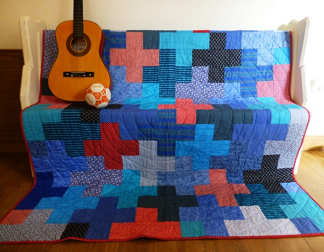 Jonah's Plus quilt Mar13 012