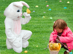 child, grass, play, easter, lawn, toddler,