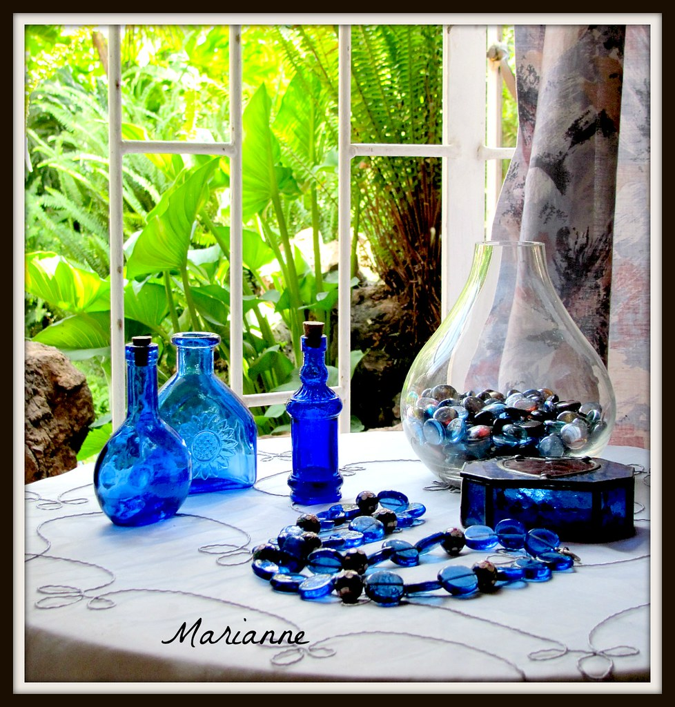 Glass - blue