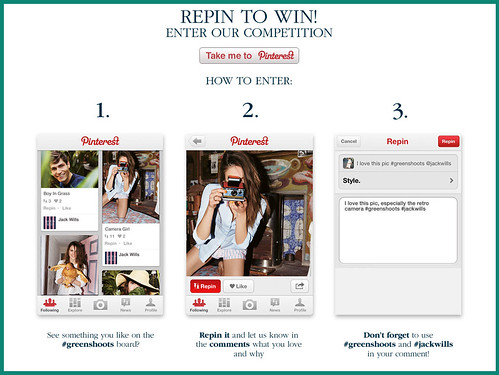 Jack Wills Pinterest Board