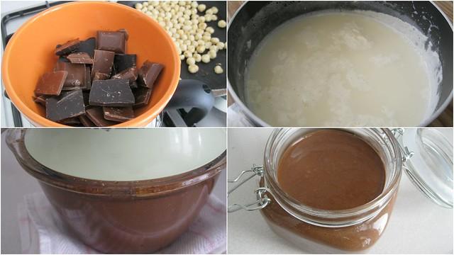 ev yapımı sofralık çikolata