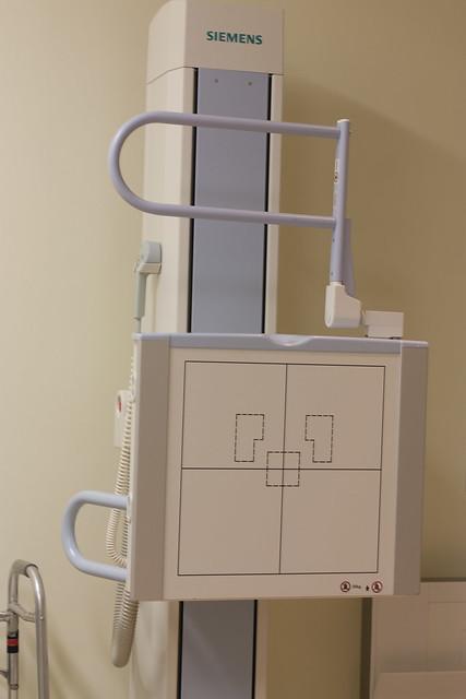 Siemens digital x-ray machine
