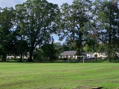 Football pitch at Pitcairn
