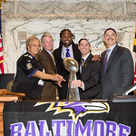Baltimore Ravens Visit Senate And House