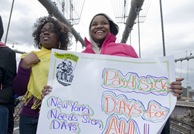 March for Paid Sick Days