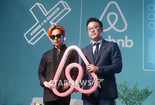 G-Dragon - Airbnb x G-Dragon - 20aug2015 - Starnews - 09