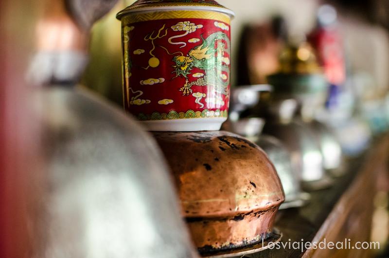 cocina tradicional en el pueblo de Wanla Ladakh
