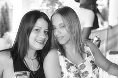 2016-09-23 (5)-1 PR girls at Laurel Park in monochrome