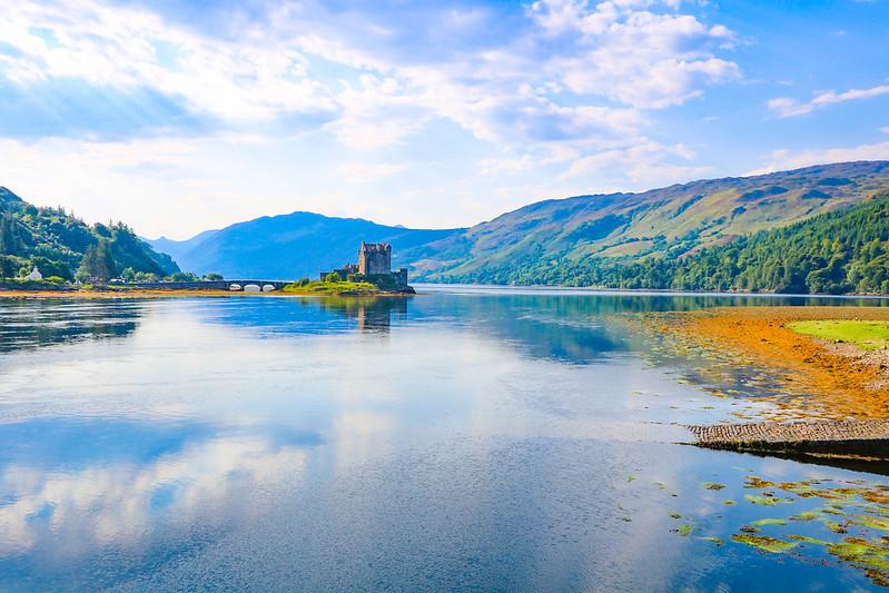 Scottish highlands and Glencoe, Scotland