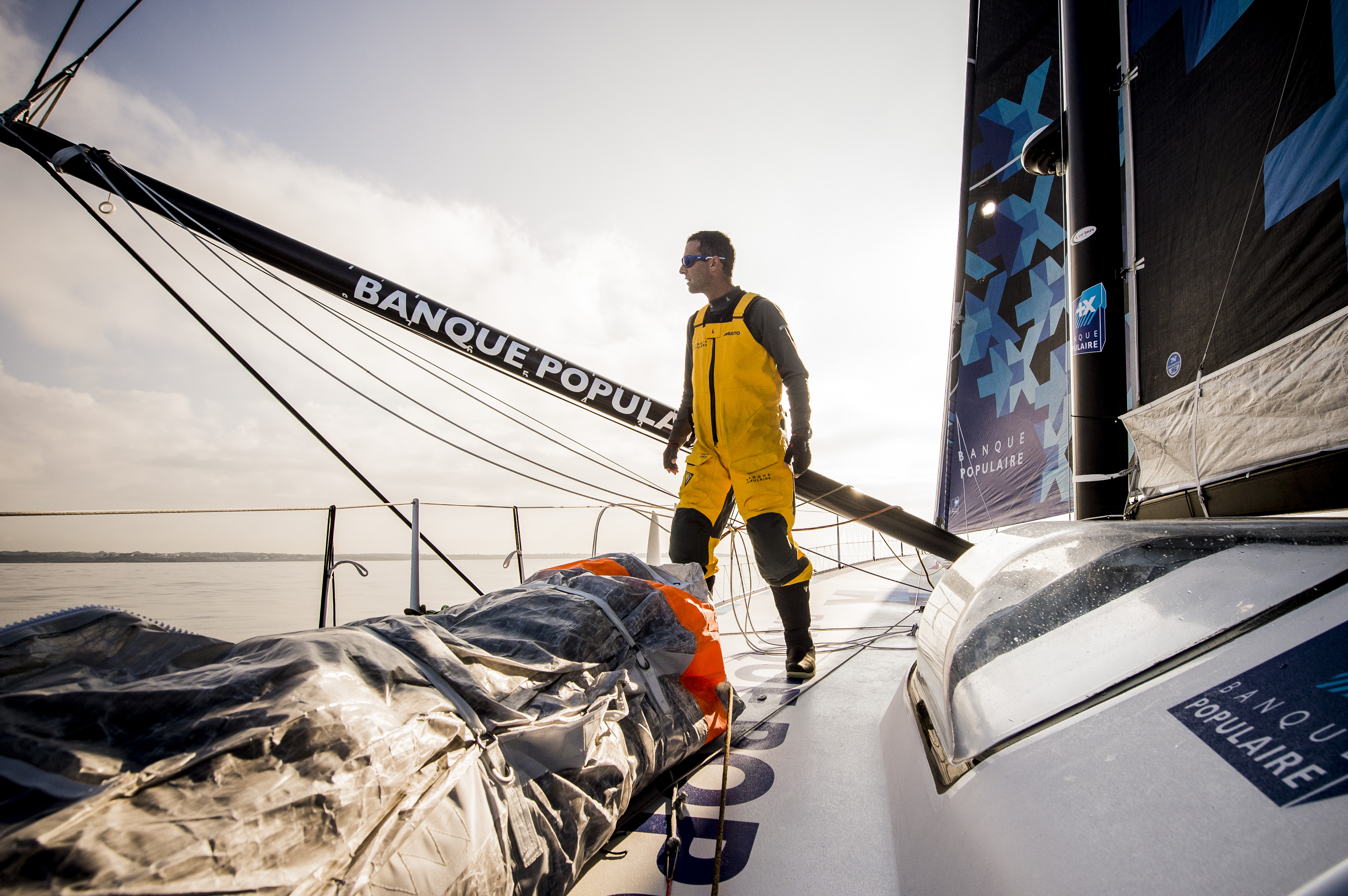 Mono BP VIII BI embarquée Vendée Globe 2016_copyright V.Curutchet - BPCE