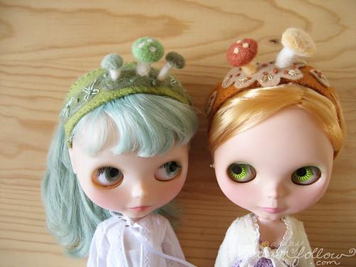mushroom headbands