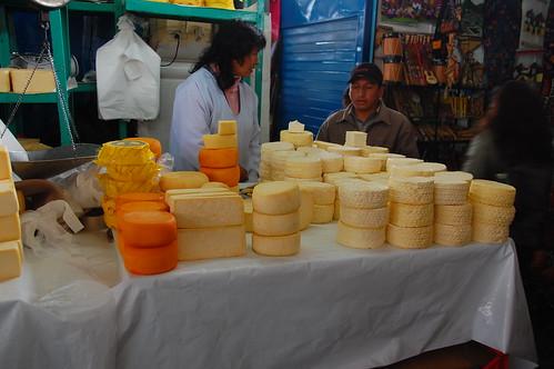 Cheese in Cusco, Peru