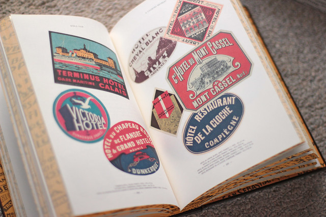 WORLD TOUR: Vintage Hotel Labels from the Collection of Gaston-Louis Vuitton