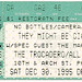 TMBG- Dec 30, 1995; ticket stub