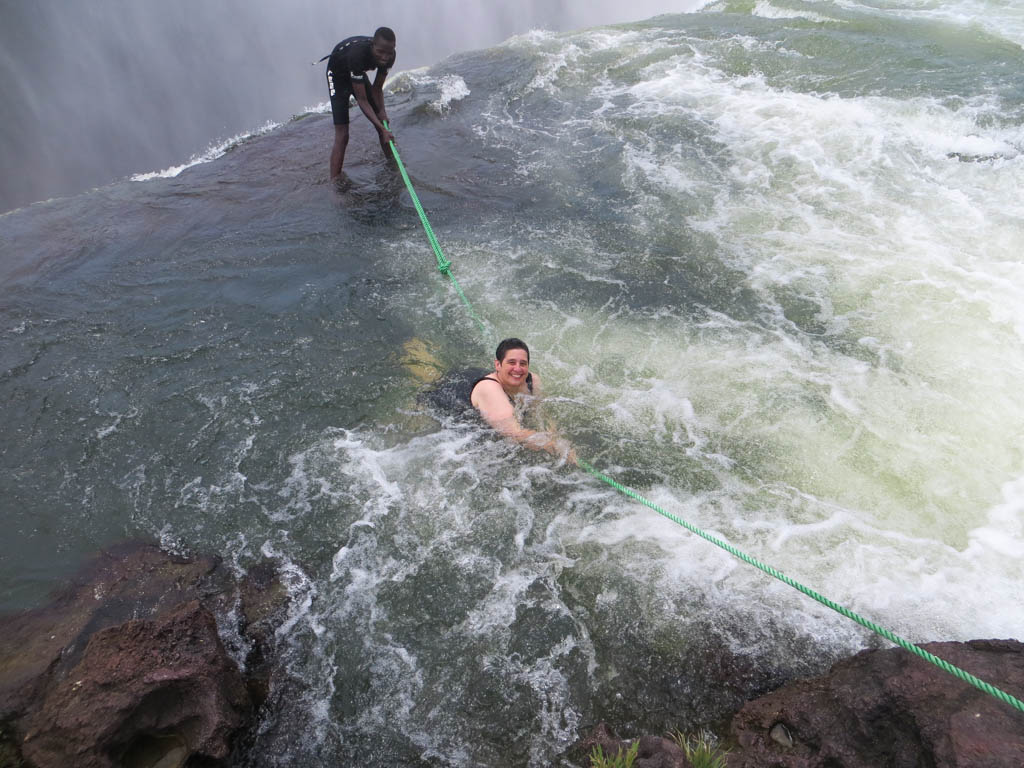 Do You Have The Courage To Swim in The Devil's Pool?