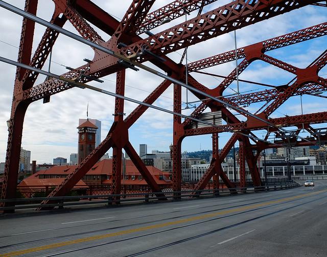 Broadway Bridge And Union Station Portland Oregon Flickr Photo Sharing