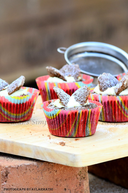Chocolate Butterfly Cupcakes