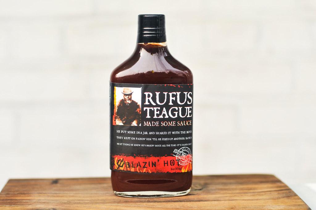 Rufus Teague Blazin' Hot Barbecue Sauce