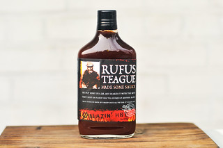 Rufus Teague Blazin' Hot Barbecue Sauce