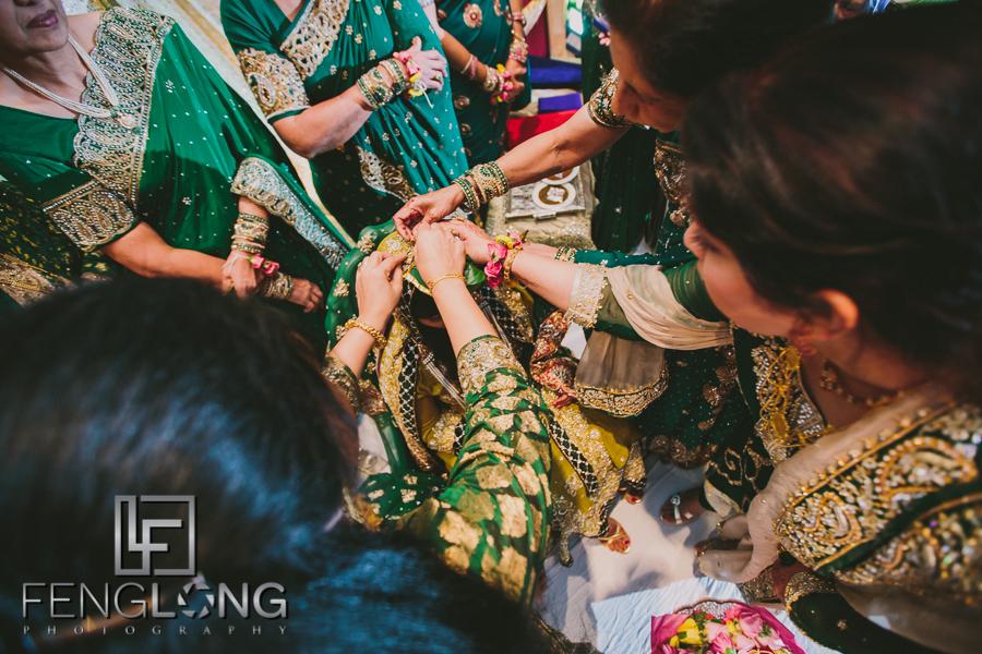 S & A's Wedding - Mehndi & Nikkah Night | Atlanta Marriott Marquis | Atlanta Pakistani Wedding Photographer