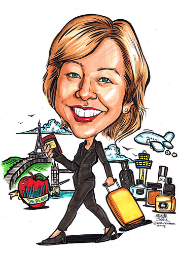 Caricature for P&G 17062012