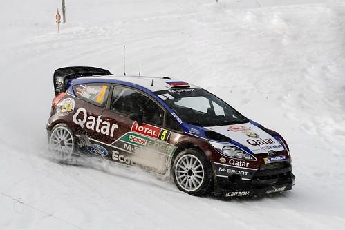 Novikov, ganador de dos especiales con su Fiesta RS WRC