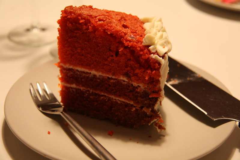 Birthday cake - red velvet