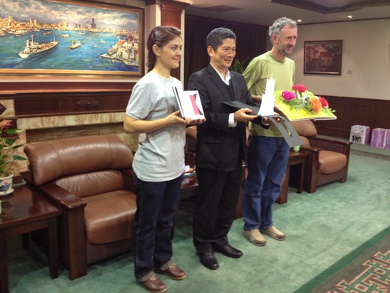 Meeting Kaohsiung's Deputy Mayor