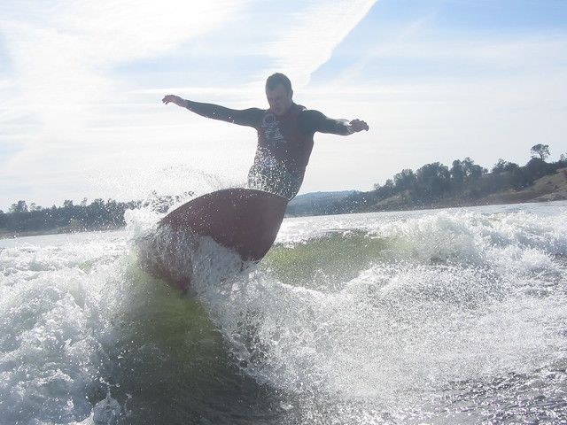 Mid January Wakesurfing 247
