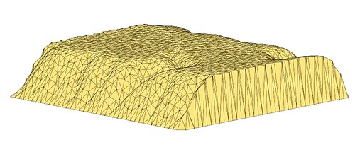 landscape erosion model output