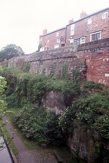 The northern curtain wall