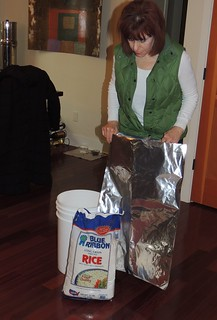 Storing Rice in Mylar Bag_01