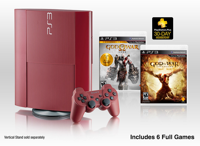 God of War: Ascension Legacy Bundle & Garnet Red PlayStation 3 Coming to North America