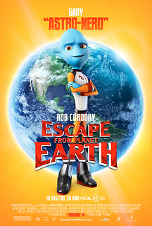 Escape From Planet Earth Poster - Gary