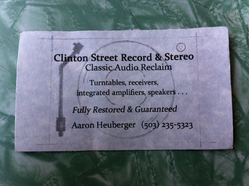 Clinton St. Record and Stereo