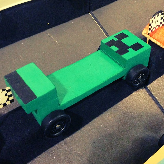 creeper pinewood derby car flickr photo sharing