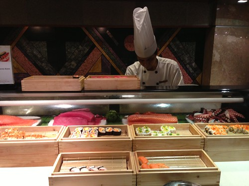 Sushi & Sashimi Counter at Parkroyal Beach Road