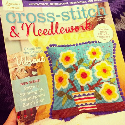 March issue of Cross-stitch and Needlework.