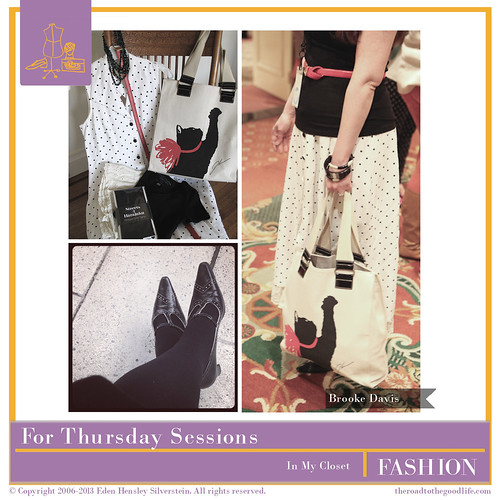 Outfit 3: #AltSummit Thursday Sessions #polkadots #jasonwu #cattote #amalfi