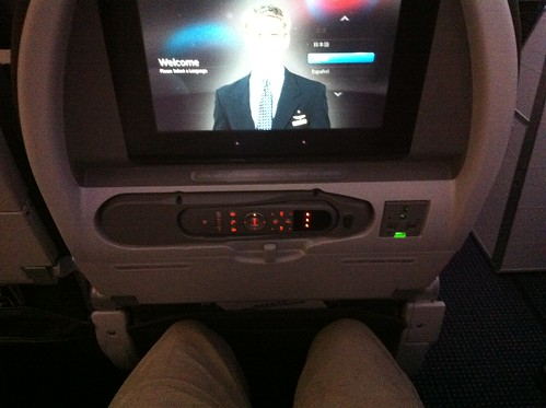 American Airlines 777-300ER legroom main cabin.