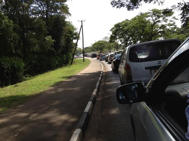 Mid-Day Nairobi Traffic