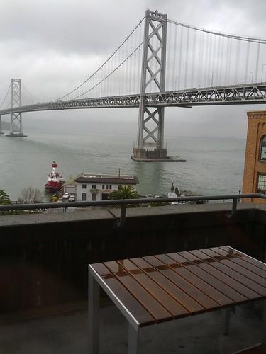 I love rainy San Francisco.