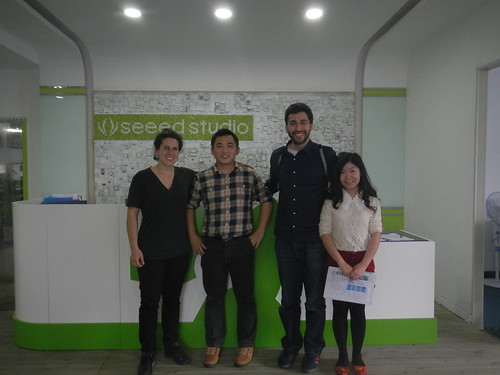 Protei visits Seeeds Studio, Shenzhen, China