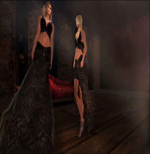 Paris METRO Couture: Wolfr Flamingo Gowns by Paris Metro Couture