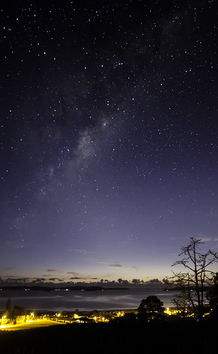 The Milky Way Over Kawau by Astronomr